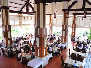 Hotelrestaurant auf Con Dao