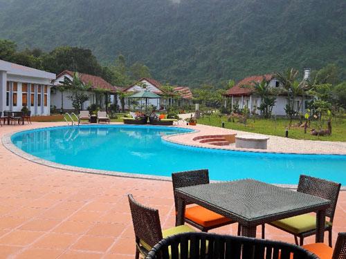 Phong Nha Ke Bang Nationalpark - Wie wäre es mit einer Erfrischung im Pool?