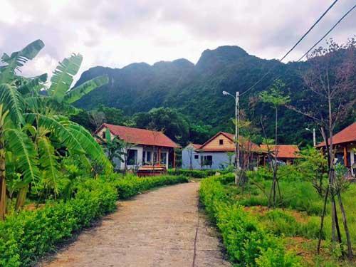 Eco-Resort beim Phong Nha Ke Bang Nationalpark