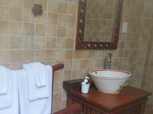 Ho Tram Hotel - Eines der Badezimmer
