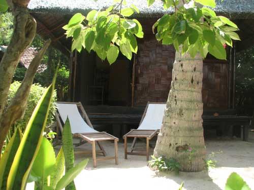 Strandurlaub Vietnam Bungalow Palmeninsel