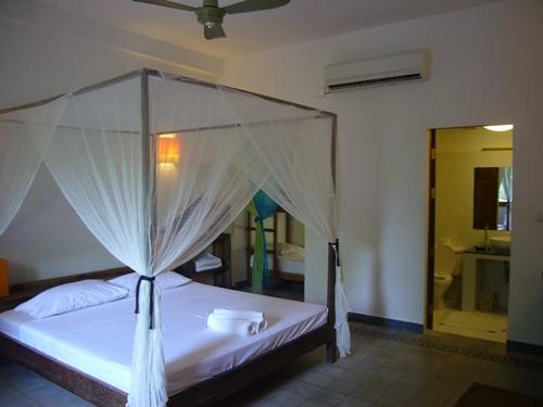 Phnom Penh Hotelzimmer Vietnam Kambodscha Rundreise