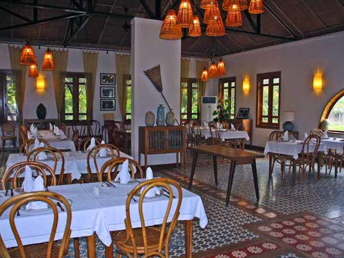Trockene Halong Bucht - Hotelrestaurant