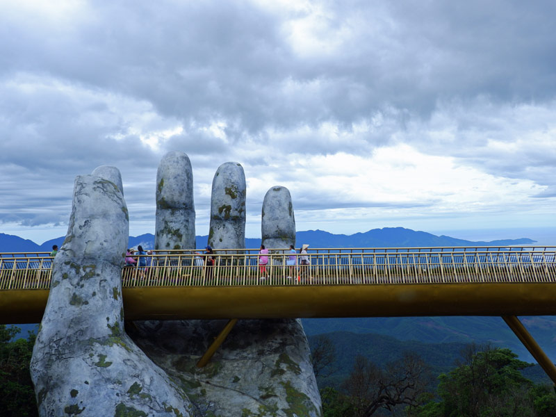 Golden Bridge Vietnam im Ba Na Hill Resort