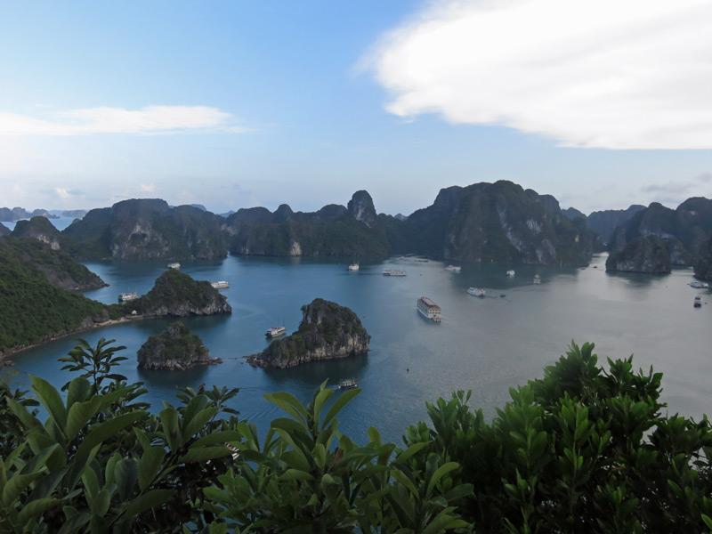 Indochina Reisen Vietnam Halong Bucht
