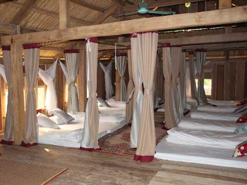 Nachtlager im Homestay