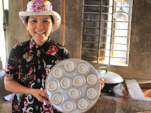 Hoi An Ausflüge: Herstellung von Reisküchlein