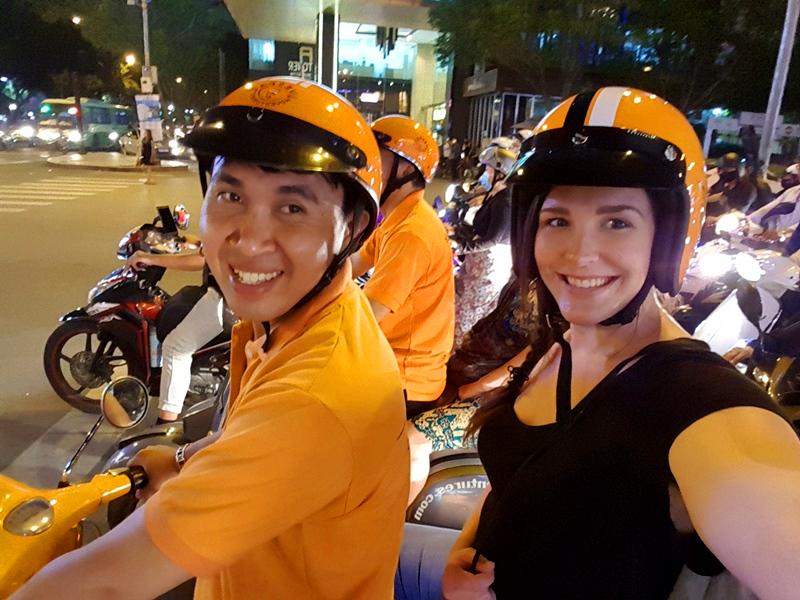 Vespa-Tour Saigon Vietnam Reise