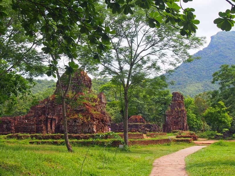 My Son Tempel Wald Vietnam Reise