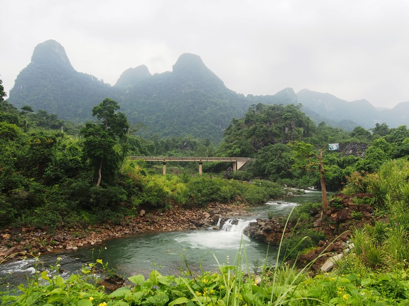 Beeindruckende Landschaften im Phong Nha Ke Bang Nationalpark